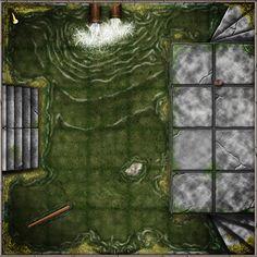 Dungeon Tiles Sewers by SaintJG.deviantart.com on @DeviantArt