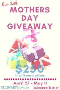 Come and join the Mothers Day gift card giveaway and more! Enter for your chance to win a gift card. Winners choice for gift card. Mother's Day Gift Card, Gift Cards, Gift Card Giveaway, Super Mom, Mom Blogs, Mother Day Gifts, Happy Mothers, Crafty, Giveaways