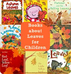 Eight Children's Books About Leaves. Use with #preschoolers while older siblings use Apologia Botany for #homeschool science