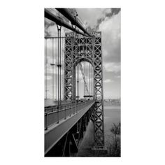 Search for customizable Hudson River posters & photo prints from Zazzle. Check out all of the spectacular designs or make your own! Fort Lee, Washington Heights, Hudson River, George Washington Bridge, Make Your Own Poster, Modern Artwork, Tool Design, Free Design, Vintage Designs
