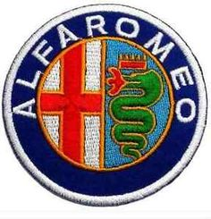Alfa-Romeo-Patch-Embroidered-Badge-Applique-Motor-Racing-Souvenir-Jacket-Bag-Hat