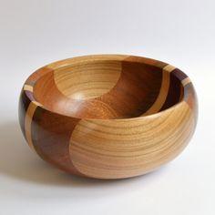 Segmented Wood Bowl £22.00