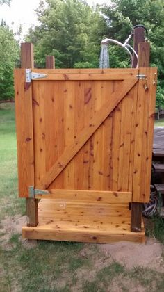 my outdoor shower - How To Build An Outdoor Shower