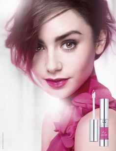 Lily Collins is the face of Lip Lover, the lip colour collection Lancôme is launching later this month: http://beautyeditor.ca/2014/03/07/lancome-lip-lover/