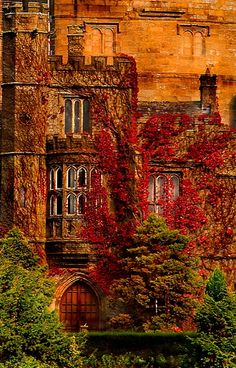 Hornby Castle is a country house developed from a medieval castle in the Lune Valley of county Lancashire in the North West of England. The castle was originally built for the Neville family in the century and is now privately owned. Beautiful Castles, Beautiful World, Beautiful Places, Oh The Places You'll Go, Places To Travel, Places To Visit, Palaces, Medieval Castle, Far Away