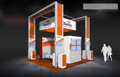 Xenics 2012 20×20 Trade Show Display Rental