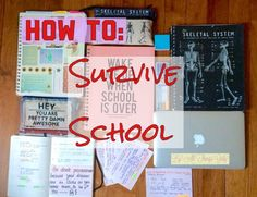 How To Survive School ✂️📓✏️