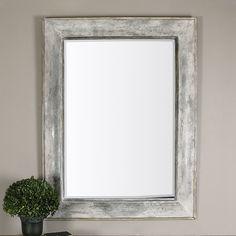 Morava Rust Aged Gray Mirror