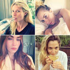 Bare-Faced Celebs: The Best No-Makeup Selfies on Instagram