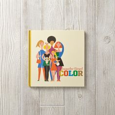 "Shop Alexander Girard Color Book.  The Alexander Girard Color hardcover book features the vintage 1972 illustration, ""Girls,"" on the cover, as well as 26 classic Girard designs that celebrate color."
