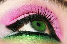 New nails green pink makeup ideas Ideas Pink Makeup, Makeup Art, Makeup Ideas, Makeup Inspo, Black White Nails, Dark Red Lips, Makeup Tumblr, Blue Eyeliner, Silver Grey Hair