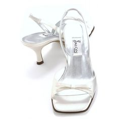 Savannah By Salon Wedding Shoes In Ivory http://www.bellissimabridalshoes.com/sale/ivory-salon-savannah-bridal-shoes
