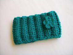 Crochet - Mommy knitted headbands - Free pattern