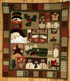Christmas Sampler Block a Month Join Now!!