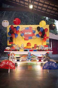 Lego NinjaGo Birthday Party Ideas | Photo 1 of 37 | Catch My Party