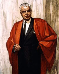 The Right Honourable John G. Diefenbaker Cleeve Horne 1968 Oil on canvas Government of Canada Canadian Things, I Am Canadian, Canadian History, Canadian People, John Diefenbaker, Government Of Canada, House Of Commons, Digital Archives, History