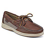 Bluefish 2-Eye Boat Shoe, Tan
