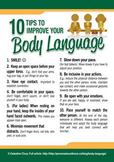 10 Tips To Improve Your Body Language [Manifesto] -- [Self-improvement] [Communication] [Awareness]  #DigitalE45DK