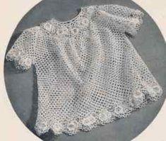 Free Crochet Baby Patterns: Free Crochet Baby Patterns - Irish Crochet Dress