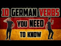▶ Learn German - 10 German Verbs You NEED To Know - YouTube. Conjugation of some of the most common verbs.