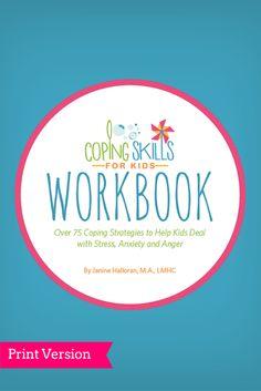 Coping Skills for Kids Workbook - Print Version