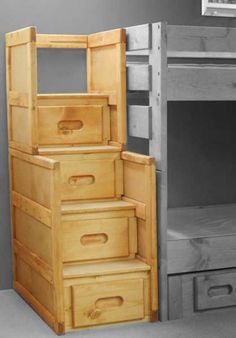Bunkhouse Stairway Chest 4754CI