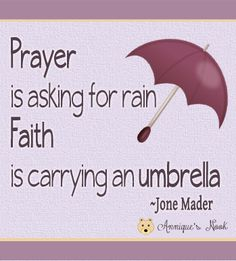 Prayer & Faith quote