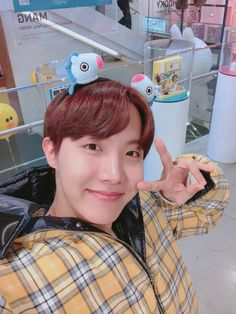 JungHoSeok | J-Hope | Fashion | BT21 | MANG | Yellow | Smile | BTS_twt
