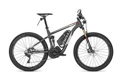"2015 Focus Thron Impulse Speed 27.5"" E-Bike, diamantschwarz-matt 45"