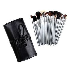 INFINIT121 Professional 40 Pcs Wool Makeup Brush Set with Free Black Case -- You can find out more details at the link of the image.