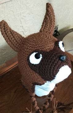 Crochet Boxer Hat by NoGrannyCaps on Etsy