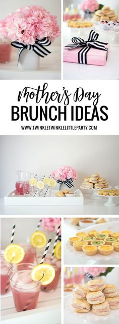 Mother's Day Brunch Ideas + A Sweet Giveaway // Twinkle Twinkle Little Party -- Mothers Day Dinner, Mothers Day Decor, Mothers Day Breakfast, Birthday Breakfast, Birthday Brunch, Breakfast For Dinner, Breakfast Ideas, Cake Birthday, Mothers Day Ideas