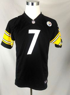 Nike Pittsburgh Steelers Roethlisberger NFL On Field Youth Jersey Size XL  18 20  Nike e4309333514