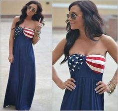 Boho Chic Americana Dress