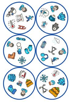 juego de mesa dobble motivos llega el frio -Orientacion Andujar School Holidays, Winter Holidays, Winter Christmas, Winter Activities, Preschool Activities, Board Game Template, Silent Book, Circle Game, Teaching Vocabulary