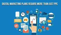 Digital marketing is an important part of every business. Most companies have a digital marketing plan for their business. You can read about why choosing for just PPC is not enough for your digital marketing tactics. Marketing Tactics, Social Media Marketing, Digital Marketing Plan, Seo Help, App Development, Activities, How To Plan, Business, Business Illustration