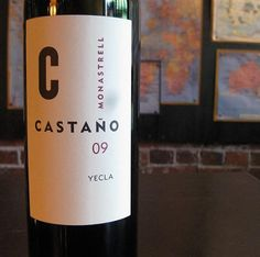UNDER 15: Bodegas Castaño 2007 Solanera Viñas Viejas (SP) ~ This red wine is a blend of 65% Monastrell, 20% Cabernet Sauvignon & 15% Tintoera (aka Alicante Bouschet); all estate-grown fruit which is aged 10 months in French oak. Inviting smoky black & blue fruit upfront. Dense, rich, dark, intense but still elegant with a smooth texture. Lots of red & dark fruit. Mainly blueberries & blackberries with licorice & some smoky & spicy notes. Wonderful, long finish.