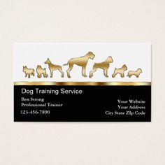 245 best dog trainer business cards images on pinterest business dog trainer business cards colourmoves