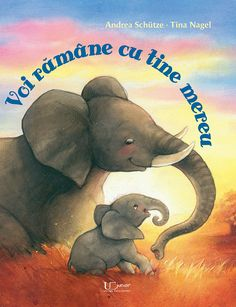 Mama elefant îi dă micului elefant un pupic de noapte bună şi îi spune:  – Somn uşor, micuţul meu. Să visezi ceva frumos!  Micul elefant se simte în siguranţă, protejat, dar totuşi o întrebare nu-i dă pace.  – Mamă, cât timp o să mai pot să stau cu tine?  – Încă mult, mult timp! îi răspunde mama, căscând.  Micul elefant rămâne un timp tăcut. Apoi întreabă:  – Da, dar ce înseamnă de fapt mult?