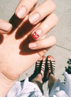 "The 13 Raddest Manicures In L.A. — & The Woman Behind Them All #refinery29  http://www.refinery29.com/2015/08/92917/olive-june-nail-salon-sarah-gibson-tuttle-interview#slide-13  ""So good! People might not notice [the subtle triangles] at first, but the ones who pay attention to the details are going to do a double take!""..."