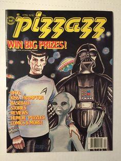 Star Wars Star Trek Pizzazz Magazine April 1978 UNREAD Condition | eBay
