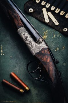 woodburning:  A cheeky little Westley Richards .410 Droplock. Utterly gorgeous.