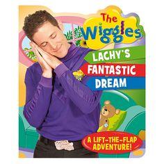 """Lachy's Fantastic Dream"" book- $9.95  #thewiggles #wigglesshop"