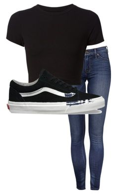 """Untitled #2282"" by looking-fly on Polyvore featuring Getting Back To Square One and Vans"