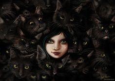 Among Cats by jerry8448.deviantart.com on @deviantART