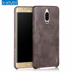 X-Level Noble Series Leather Back Cover Case for Huawei mate 9 pro high quality vintage phone case for Mate 9 Porsche