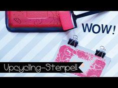 XXL Recycling Stempel! Inklusive Einhorn-Vorlage! | Kinnertied: