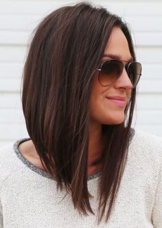 2015 – 2016 short hair trends 2019 haircut trends best haircuts for 2019 90 bob haircut trends 2019 the best haircuts for fall 2019 14 best haircut trends for fall 2019 top haircuts & styles 22 best fall hair trends and hairstyles to. Long Angled Bob Hairstyles, Short Bob Haircuts, Hairstyles For Round Faces, Curly Bob Hairstyles, Haircut Bob, Wavy Lob, A Line Hairstyles, Long Angled Bobs, Long Angled Haircut