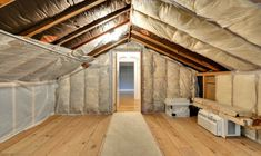 How To Finish An Attic Ceiling Finishing E Slanted Beams