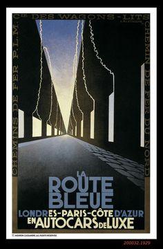 La Route Bleue [1929]